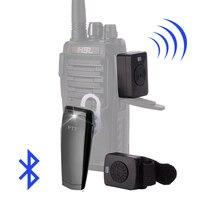 Walkie Talkie Hands free Bluetooth Headset K/M Type Earphone Handheld Two Way Radio Wireless Headphones For Motorola Baofeng