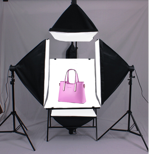 TOP LIGHTING photo stuido photography set table 4 single lamp set softbox light shooting station photographic equipment