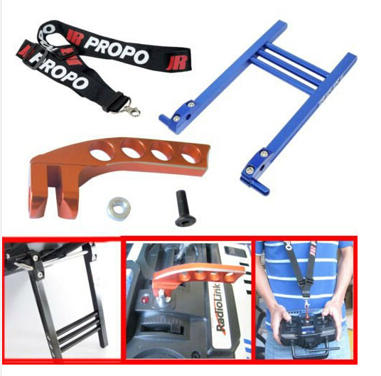 RC Neck Strap & Balancer & Transmitter Bracket Holder for JR FUTABA Radio link transmitter image