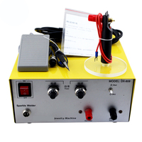 gold silver metal necklace making machine Jewelry Welding Machine Electronic Sparkl e Welder spot welding machine 80A