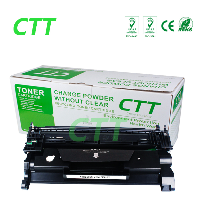 New CF226X 226X CF226 toner cartridge Compatible For HP LaserJet Pro M402n M402d M402dn M402dw MFPM426dw/M426fdn/M426fdw for hp cf280a laserjet toner cartridge for hp laserjet printers 400 m401d m401n m425dn m425dw 2000pages black high quality