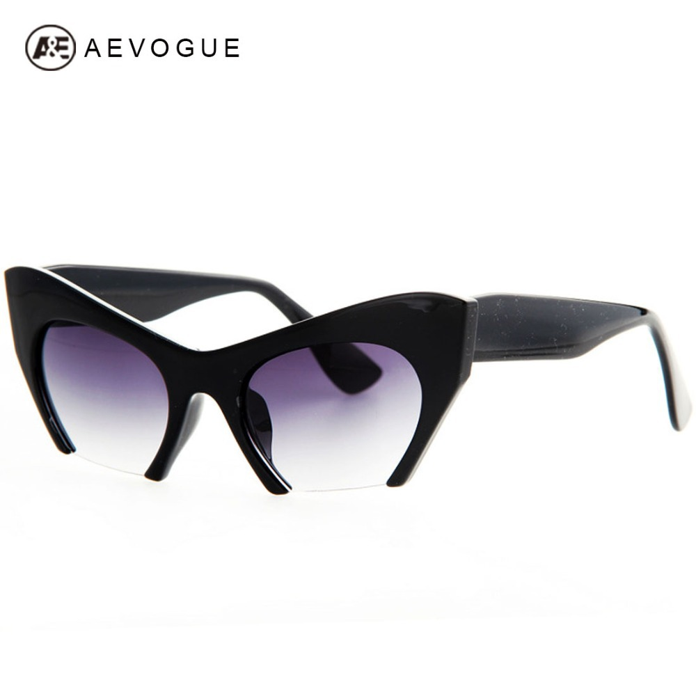 AEVOGUE Free Shipping Retro Brand Cat Eye Sunglasses Women ...
