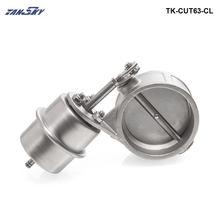 Вакуумный активированный Выпускной вырез/самосвалы 63 мм Закрыть Стиль Давление: около 1 бар для Ford Mustang GT 4.6l V8 tk-cut63-cl