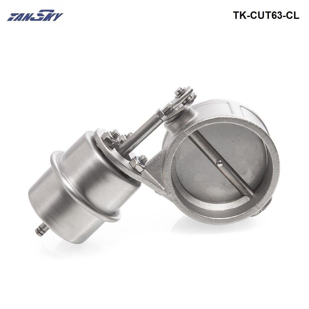 Vácuo Ativado Escape Recorte/Dump 63 MM Fechar Estilo Pressão: cerca de 1 BAR Para Ford Mustang GT 4.6L V8 TK-CUT63-CL