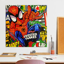 Lichtenstein Pop Art Cartoon Oil painting on canvas Hand-painted Wall Picture for living Room Andy Warhol  home decor 13