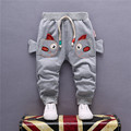 2017 Spring New Korean Fashion Cotton Baby Pants 1 Piece 0-2 Year Cartoon Brand Sweatpants  Baby Boys Pants Baby Girls Pants
