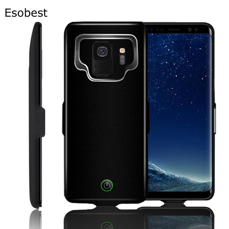 7000 mah Esterno Portatile della banca di potere cassa di batteria Per Samsung Galaxy S8 S9 A8 batteria di caso del caricabatteria Per Samsung s8 s9 più a8plus