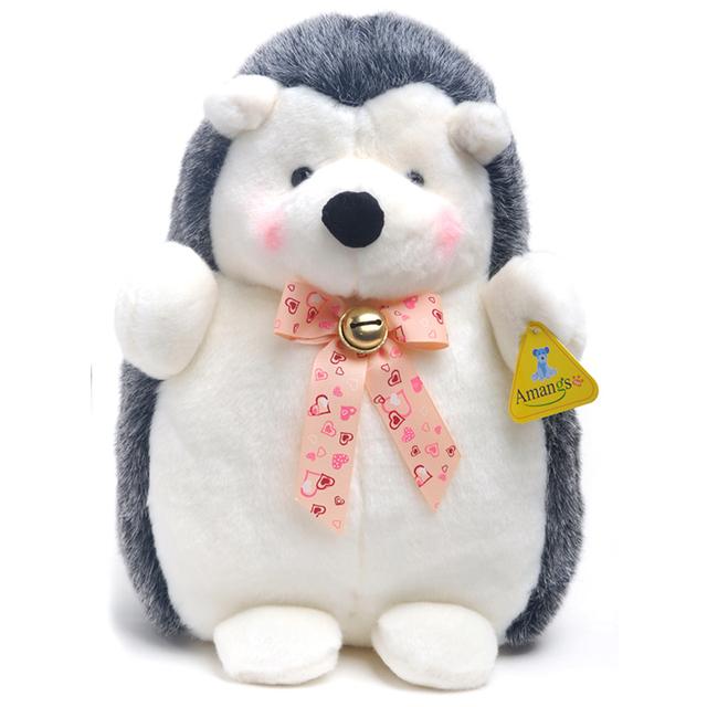 1pc High Quality 25cm Lovely Korea Hedgehog Plush Toy Staffed Soft Animal Plush Toys Cute Kids Doll Birthday Gift Doll