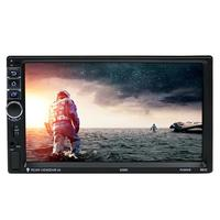 VODOOL 7 2 DIN Touch Screen Android 7 1 Car Multimedia Player 1G 16G Bluetooth WiFi