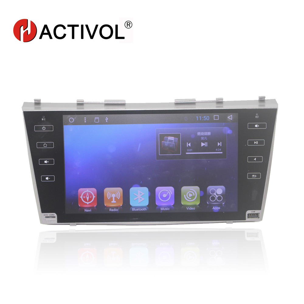 Бесплатная доставка 9 радио автомобиль Toyota Camry AURION V40 2006 2007 2008 2009 2010 2011 android 7,0 автомобильный DVD gps с 1 г Оперативная память 16 г Встроенная память