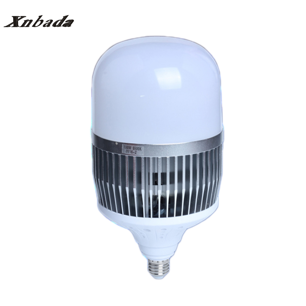 30W 50W 80W 100W 150W High Power LED Lamp Light E40 E27 220V 5730SMD LED Bulb Light For Warehouse Engineer Square Free shipping