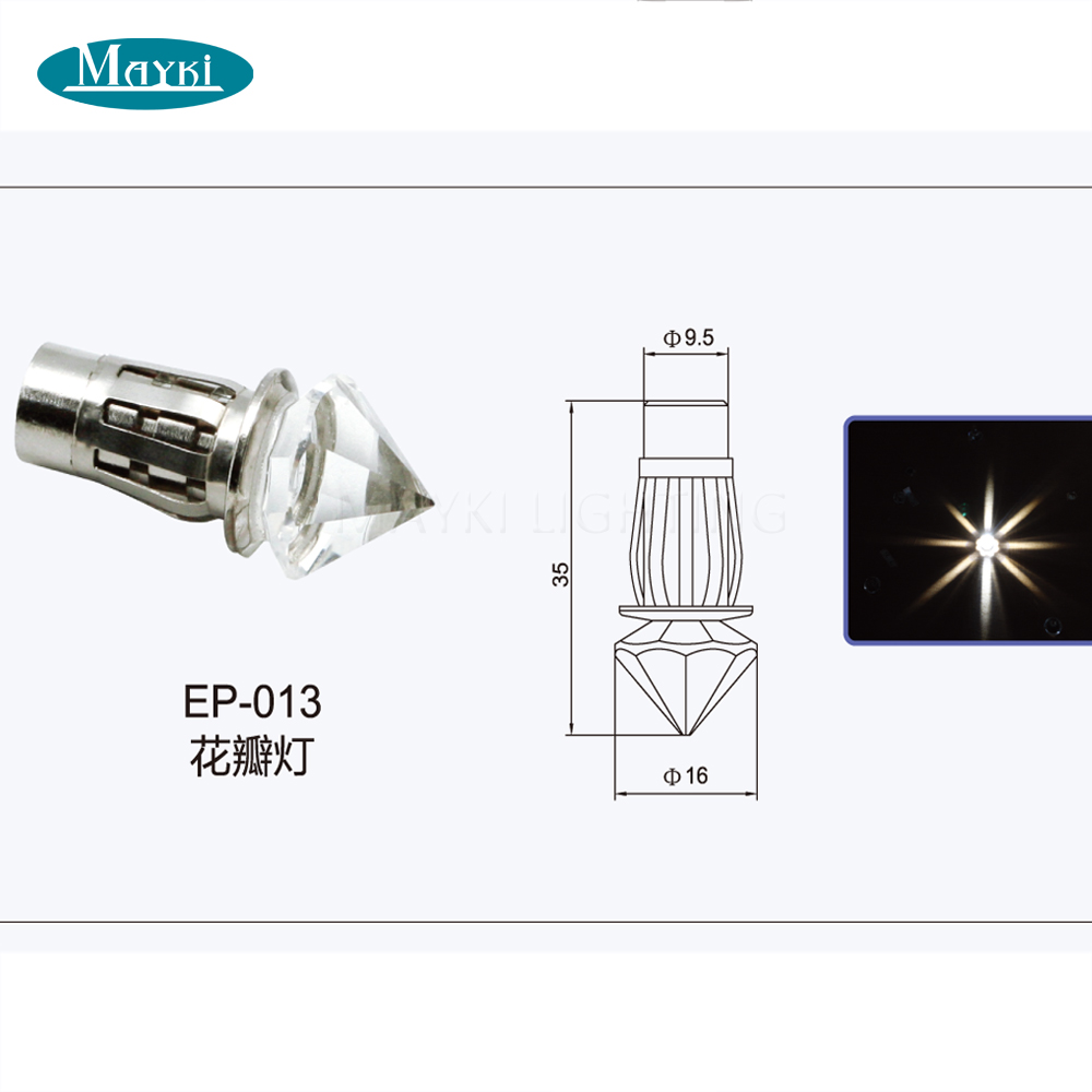 Maykit сауна волокно Кристалл концевой светильник Оптическое волокно звезда потолок концевой части в 6 диаметр светодиодные люстры аксессуары