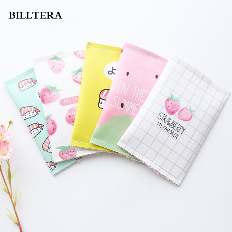 new women sweet pink coin purse children girls strawberry pattern pu mini purses kids change bag small fresh short wallet clutch