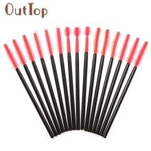 maquiagem 50Pcs Disposable Eyelash Brushes Make-up Applicators Wands Micro Mascara Wands 09 Dropship