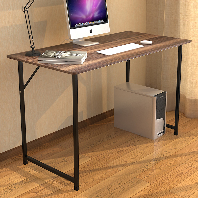 2016 Cheap desktop bookshelf assembly simple tables desk