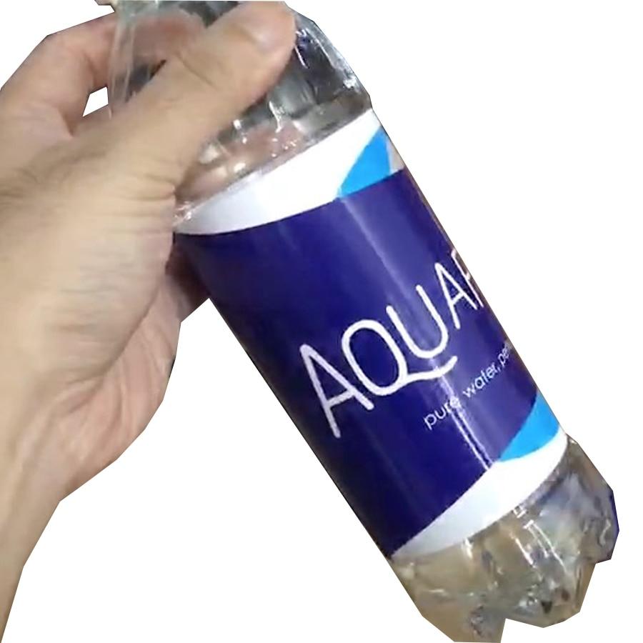 Aquafina Water Bottle Diversion Safe Can Stash Bottle Hidden Security Container Stash Safe Box With A Food Grade Smell Proof Bag
