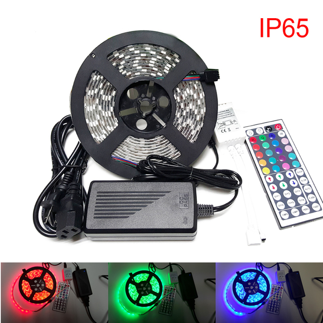 rgb dp changing control remote color strip kit led light buy waterproof