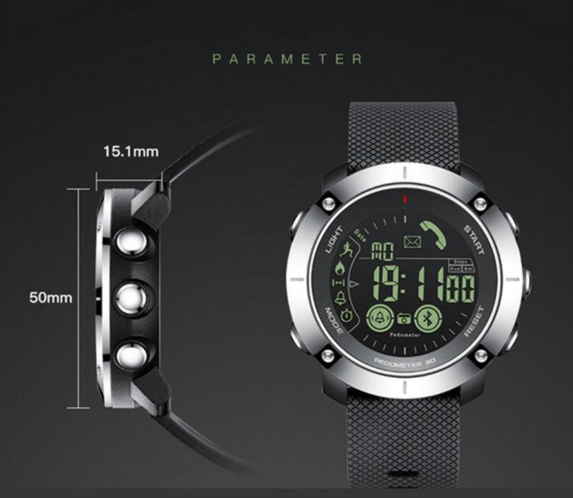 L8STAR Мода Плавание <font><b>Bluetooth</b></font> Smart наручные часы спортивные Шагомер трекер для андроид iOS EX36