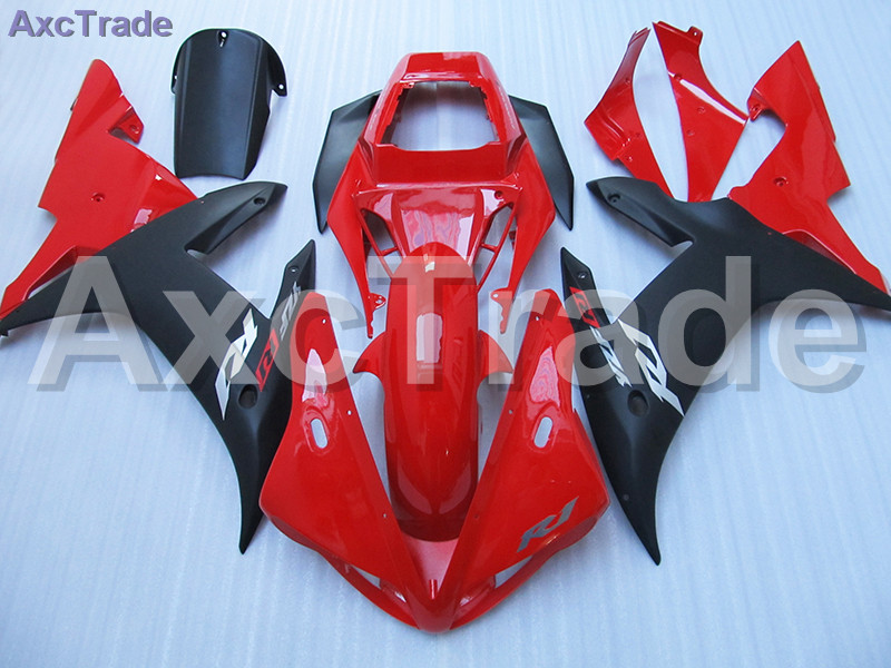 Moto Injection Mold Motorcycle Fairing Kit For Yamaha YZF1000 YZF 1000 R1 YZF-R1 2002 2003 02 03 Bodywork Fairings Custom Made red black moto fairing kit for yamaha yzf600 yzf 600 r6 yzf r6 1998 2002 98 02 fairings custom made motorcycle bodywork c821
