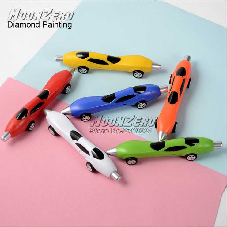 Профессиональная ручка для алмазной живописи инструменты Алмазная вышивка аксессуары точечный сверлильный инструмент для выкладывания мозаики милые автомобильные ручки