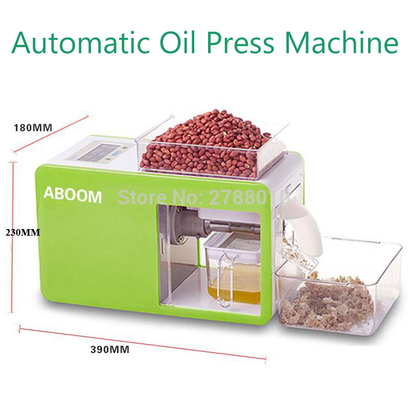 Household Automatic Oil Press Machine Commercial Electric Oil Making Machine Oliver/Soybean Squeezer YD-CD-0103 cheaper price high efficiency oil commercial automatic peanut soybean mini oil press machine