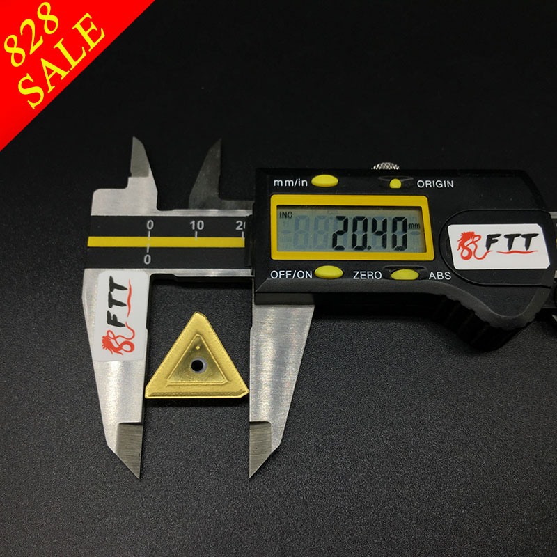 10 PZ TPKR2204 NN UE6020 Inserti in metallo duro utensili per - Macchine utensili e accessori - Fotografia 4