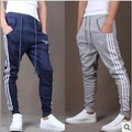 Hot sale 2014 autumn male trousers casual pants sports pants slim skinny pants harem pants Free shipping