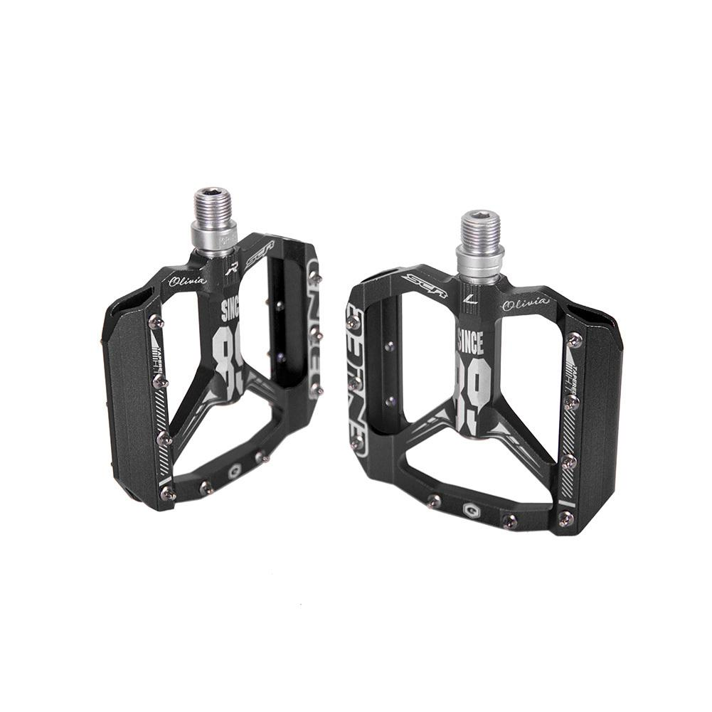 Image 4 - Enlee Bicycle Pedal Mountain Bike Bearing Pedal DH Off Road Vehicle Equipment Pedal S1-in Bicycle Pedal from Sports & Entertainment