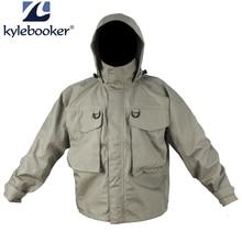 Новый мужской дышащий Fly Рыбалка вброд куртка водостойкая Рыбалка Вейдер куртка одежда Открытый Охота Рыбалка одежда
