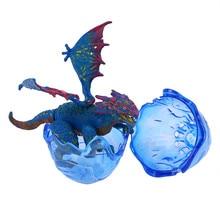 Каваи милый креативный динозавр DIY сшивающая игрушка модель Птерозавр Динозавр яйцо игрушки подарок подарок игрушки дропшоппер