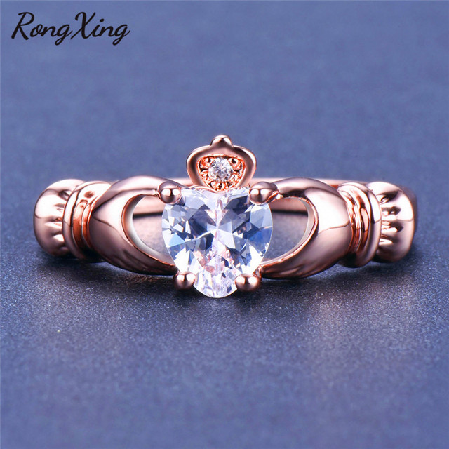 Claddagh Ring Gold Womens 3