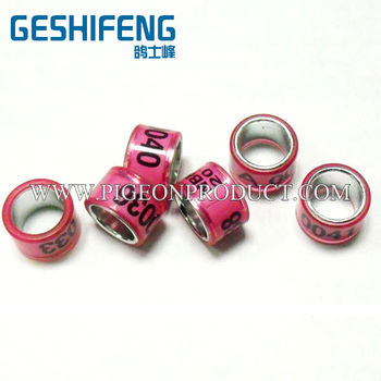 free shipping 400pc 7mm inside diameter with height 7mm nes style pigeon ring bands for 2014