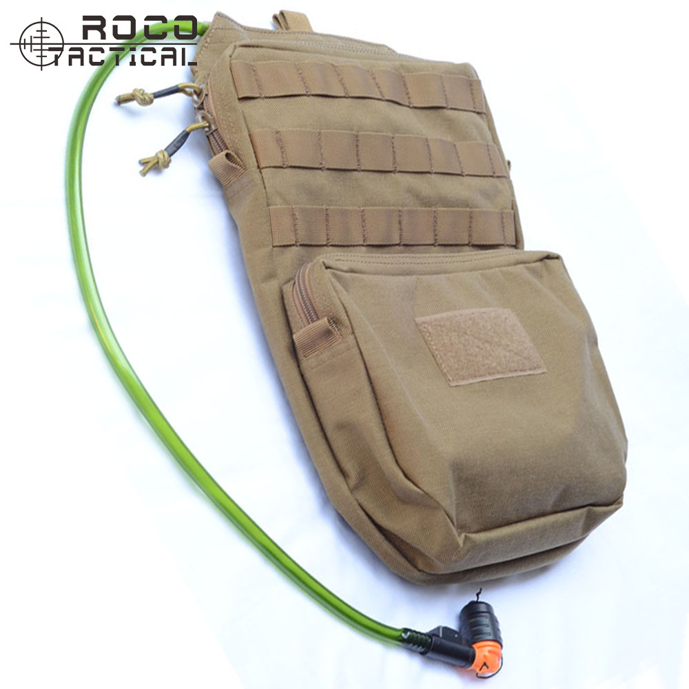 ФОТО ROCOTACTICAL MOLLE Hydration Backpack 3L Military Travel Hydration Pack 3L Water Pack (Bladder is not included) Coyote Brown