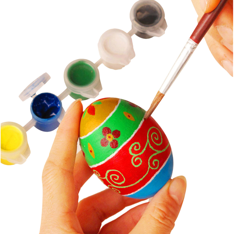 5 teile/satz Kinder Spielzeug DIY Kreative Simulation Holz Ostern ...