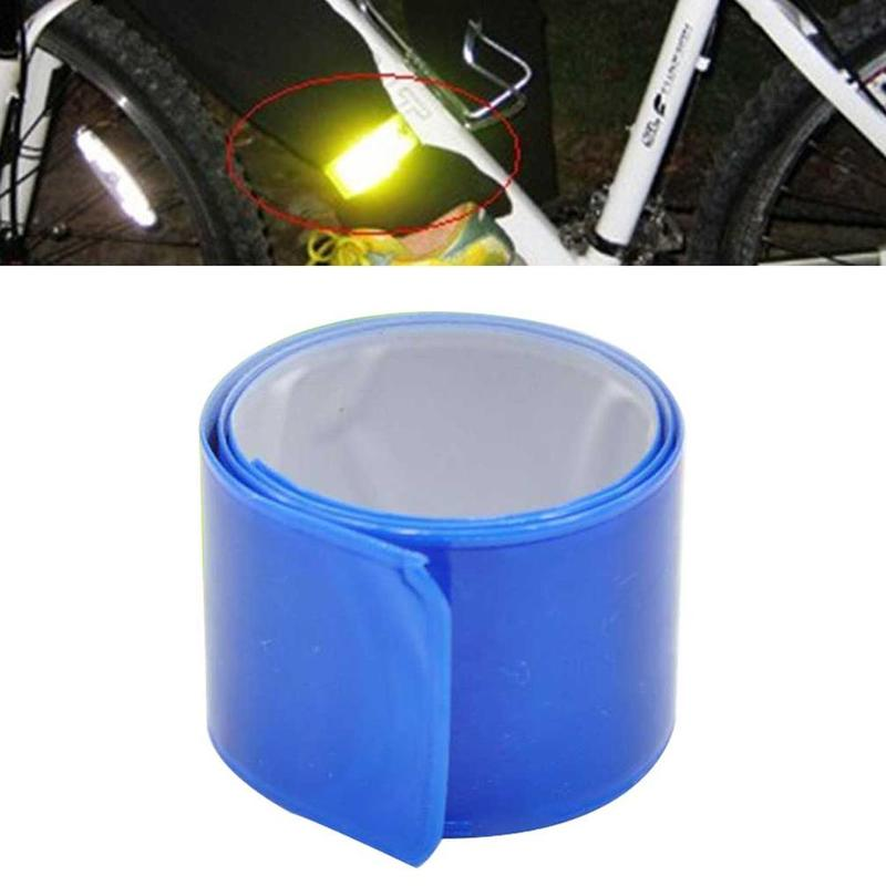 1 Pc Beam Belt / Legging Belt / Bicycle Reflective Strip  Extended Bicycle Reflective Tape Safety Protection Reflective Tool
