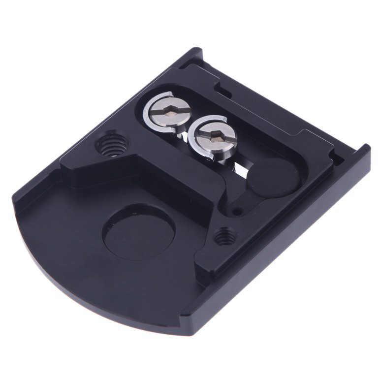Крепление линзы камеры 410PL БЫСТРОРАЗЪЕМНАЯ пластина для Manfrotto 405 410 для RC4 Quick Release system Black
