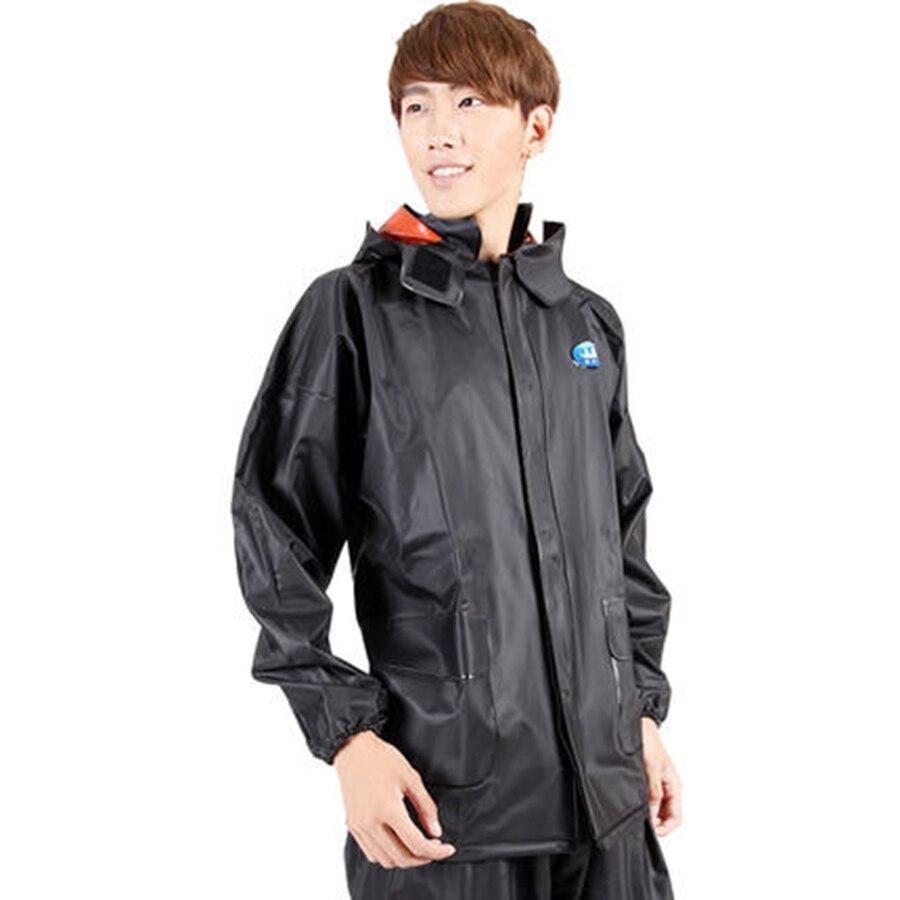 Outdoor Rain Cover Motorcycle Rain coat women Rain Coat Men Waterproof Coat Poncho Regenjas Heren Pluie Waterproof Coat 5R153 in Raincoats from Home Garden