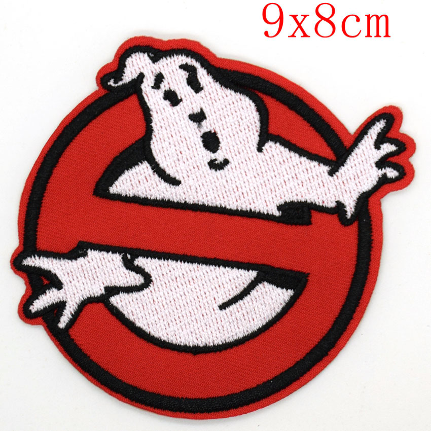 New Arrival Ghost victory Movie Game Cartoon Comic Patch Sew Iron on Embroidered Applique Sign Vest Jackt T shirt Costume Gift in Patches from Home Garden