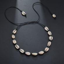 Boho Hawaii Handmad Beach Shell Conch Choker Necklace Women Summer Jewelry