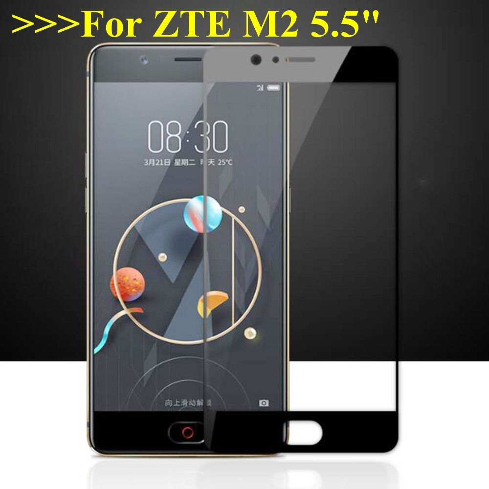 """2Pcs Glass for M2 Tempered Glass For ZTE Nubia M2 M 2 Screen Protector Film Full Cover Anti-Explosion ZTE Nubia M2 NX551J 5.5""""(China)"""