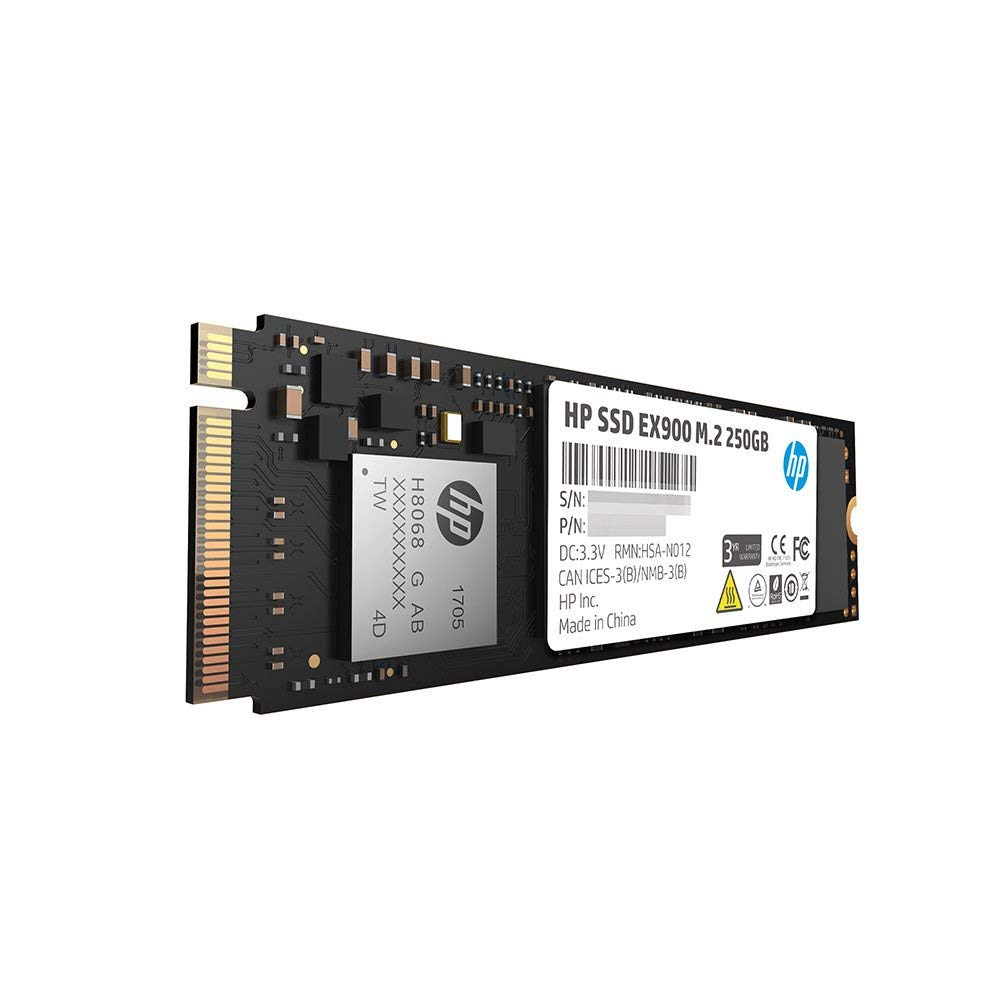 Original HP SSD 250GB EX900 M.2 PCIe 3.1 x 4 NVMe 3D TLC NAND m.2 ssd for Gaming Desktop PC HDD Internal Solid State Drive 50gb image