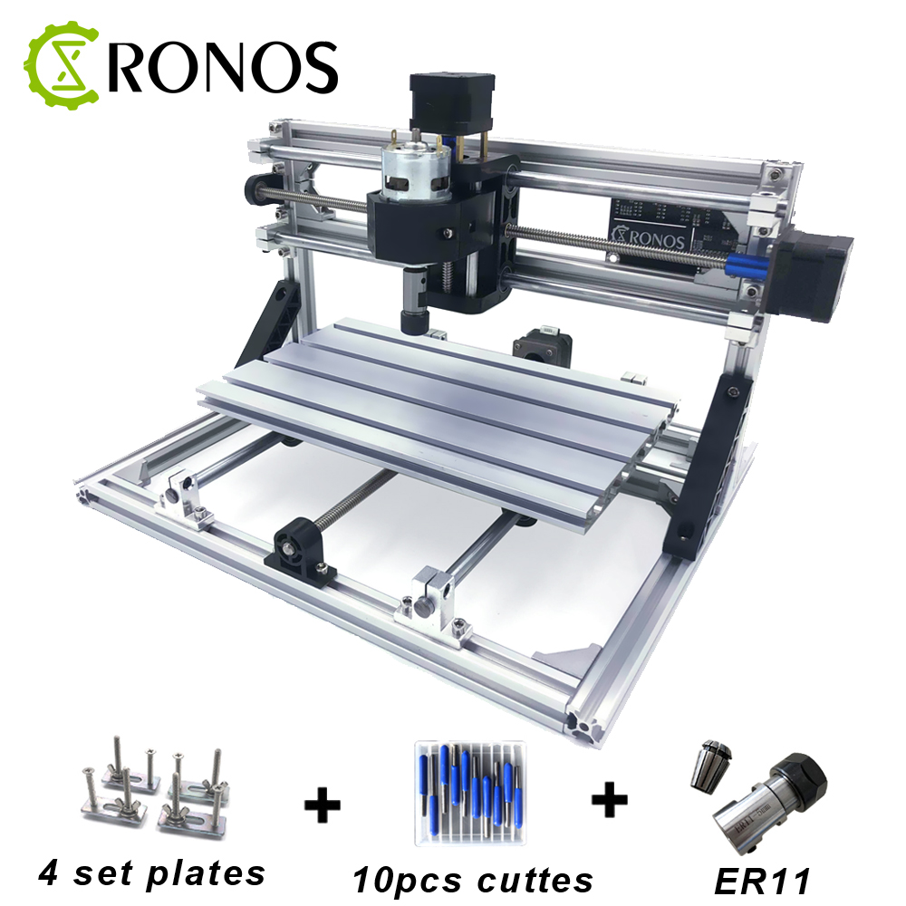 CNC3018 ER11,DIY Mini CNC Engraving Machine,Pcb Milling Machine,Wood Router,Laser Engraving,CNC Router GRBL Control,Craved Metal