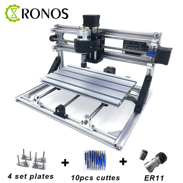 CNC3018 ER11, DIY Mini CNC Engraving Machine, Pcb Milling Wood Router,  Laser Engraving, Router GRBL Control, Craved metal