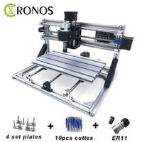 CNC3018 ER11 DIY Mini CNC Engraving Machine Pcb Milling Machine Wood Router Laser Engraving GRBL Control