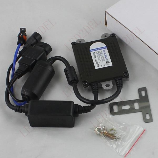 Car Headlight HID Xenon Kit bulbs 35W No Error Anti Flicker Canbus Ballast Slim (2pcs)