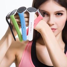 Sport Smartwatch C5 1,22 «Runde IPS Display Wasserdicht Unterstützung 360 Grad Im Uhrzeigersinn Pulsmesser Sos-ruf Sprachsteuerung