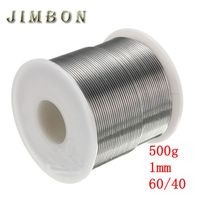 JimBon 1mm 500g 60 40 Rosin Core Solder Tin Lead 2 0 Flux Soldering Welding Iron