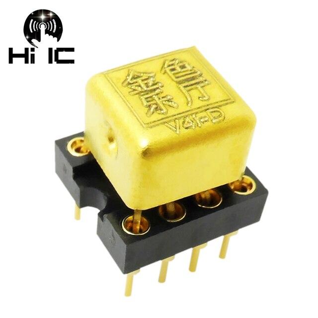 1 piece V4i D HiFi Audio Dual Op Amp Upgrade HDAM8888 9988SQ/883B MUSES02 01 8820 OPA2604AP for DAC Preamp Headphone Amplifier