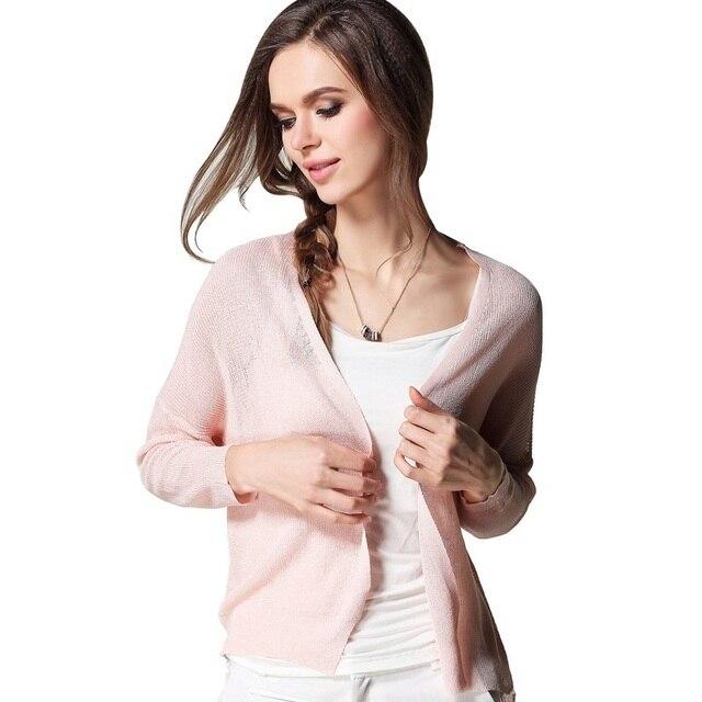 кофты женские корейский модные короткие Плечами Кардиган Новый стиль сезон   весна–лето Офисные женские d8fef832246