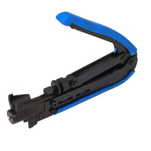 цена на Compression Crimping Tool F RG59 RG6 RG11 Cable Adjustable Coax Coaxial Crimper